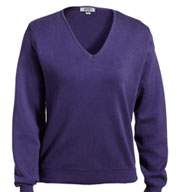 Custom Ladies Pullover V-Neck Sweater