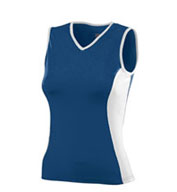 Custom Girls Poly/Spandex Sleeveless Volleyball Jersey
