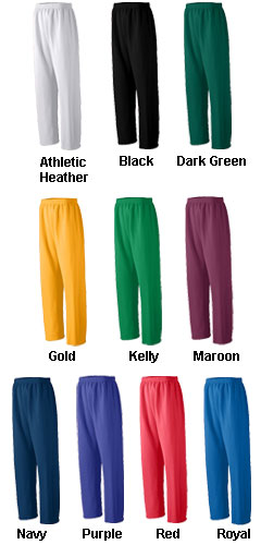 Adult Open Bottom Heavyweight Sweatpant - All Colors