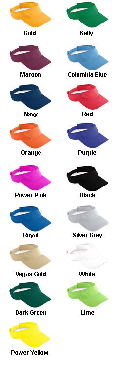 Youth Athletic Mesh Visor - All Colors