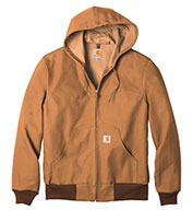 Duck Active Jacket Water Repellent w/Thermal Lined
