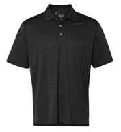 Custom Adidas Golf Men�s ClimaLite® Textured Short-Sleeve Polo
