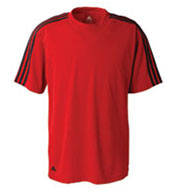 Custom Adidas Mens Climalite® 3-Stripes Tee