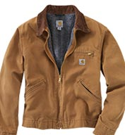 Custom Carhartt Mens Duck Detroit Jacket/Blanket Lined