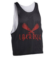 Custom Adult Zone Sleeveless Reversible Lacrosse Jersey Mens