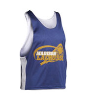 Youth Midfielder Sleeveless Reversible Lacrosse Jersey