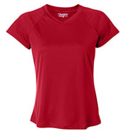 Custom Champion Ladies Wicking V-Neck Tee