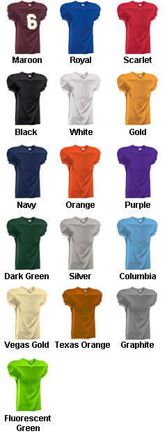 Youth Crunch Time Custom Football Jersey - All Colors
