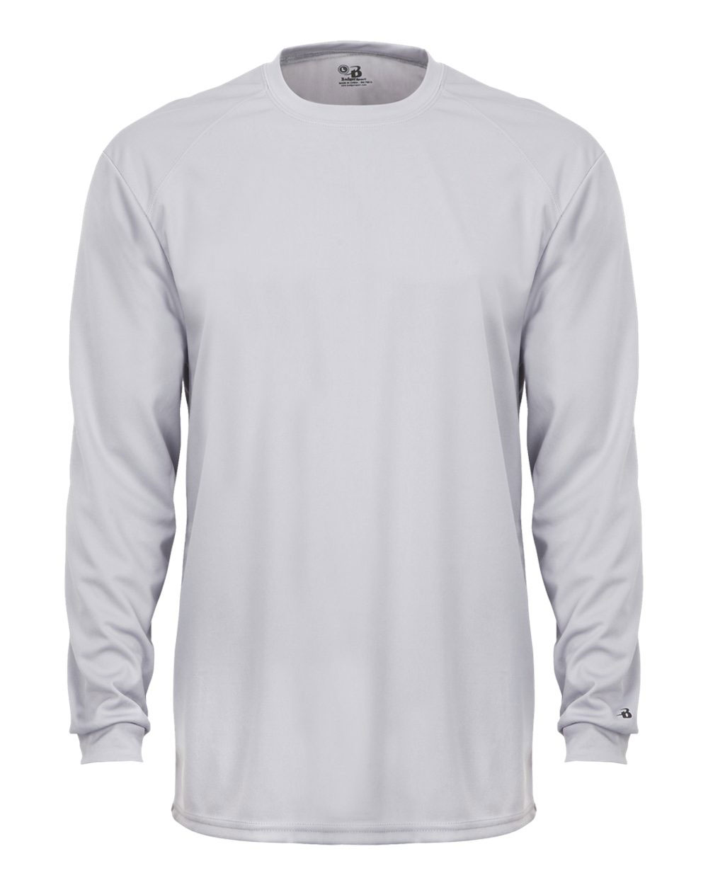 Adult B-Dry Core Long Sleeve  Performance Tee by Badger
