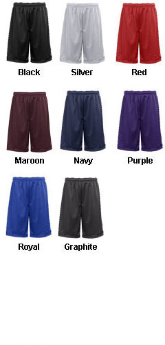 Badger Adult Mesh/Tricot 11 Short - All Colors