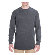 UltraClub Mens Mini Thermal Crewneck