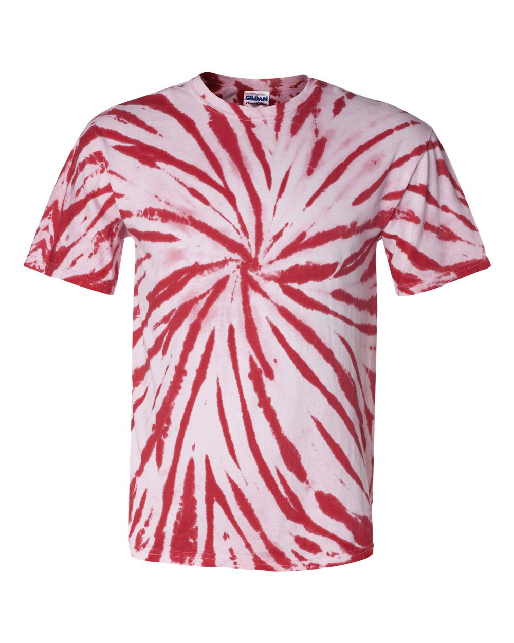 Adult Tie-Dyed Contrast Swirl T-Shirt
