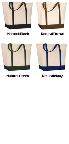 Anvil Organic Boat Tote - All Colors