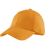 Custom Garment Washed Cap in 15 colors