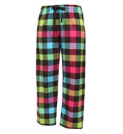 Adult Drawstring Flannel Pants