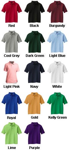 Youth Silk Touch� Sport Shirt - All Colors