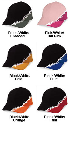Cross Colored Flame Cap - All Colors