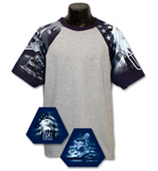Custom Adult Air Force Design Tshirt Mens