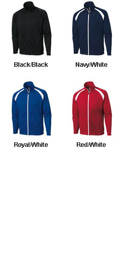 Adult Tricot Track Jacket - All Colors