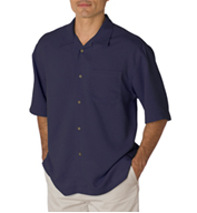 Bedford Cord Camp Shirt by Cubavera