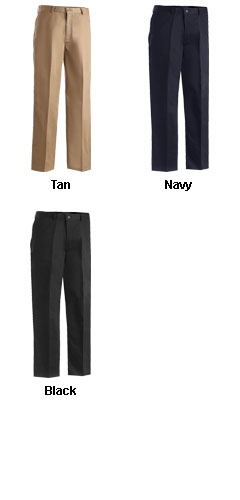 Mens Flat Front Pant in Regular Sizes - All Colors