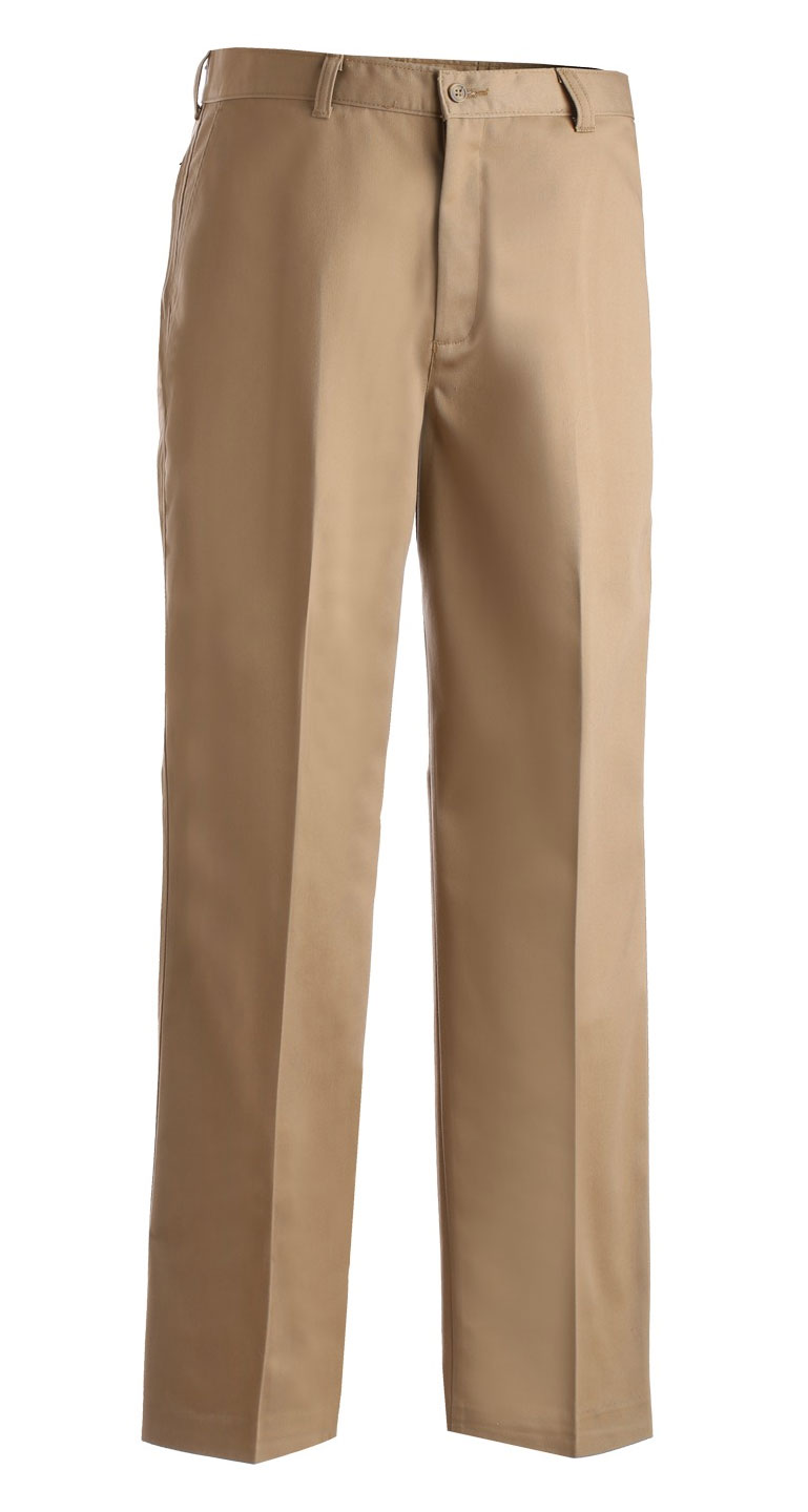Mens Flat Front Pant in Regular Sizes