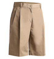 Misses Pleated Utility Short