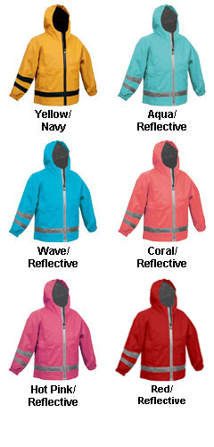 Childrens  New Englander Rain Jacket by Charles River Apparel - All Colors