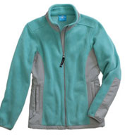 Custom Womens Evolux™ Fleece Jacket by Charles River Apparel