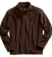 Custom Bonded Corduroy Fleece Pullover  by Charles River Apparel