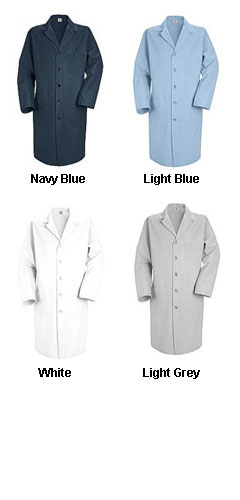 Mens Knee Length Lab Coat - All Colors