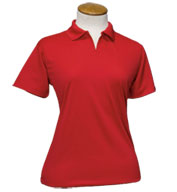 Ladies Moisture Management Polo