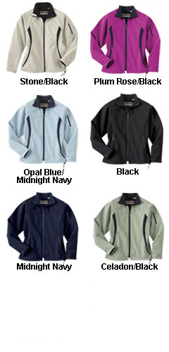 Ladies Performance Brushed Back Soft Shell Jacket - All Colors