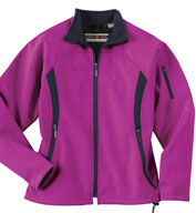 Custom Ladies Performance Brushed Back Soft Shell Jacket