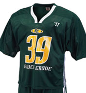 Custom Mens Velocity Lacrosse Game Jersey
