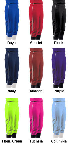 Girls Turn Two Softball Pants - All Colors