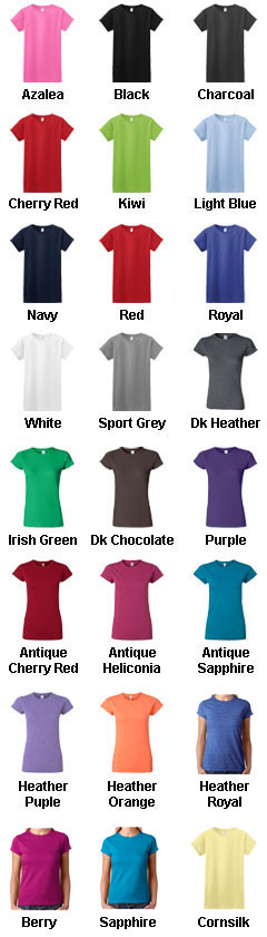 Gildan Ladies 100% Soft Style™ Tee - All Colors