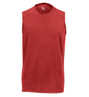 Mens Sleeveless B-Core Tee by Badger