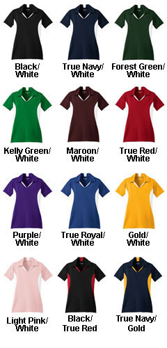 Ladies Side Blocked Micropique Sport-Wick® Coaches Polo - All Colors