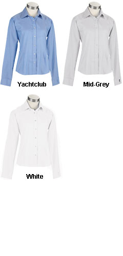 Womens EZ-TECH™ Herringbone Woven Shirt - All Colors