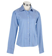 Womens EZ-TECH™ Herringbone Woven Shirt