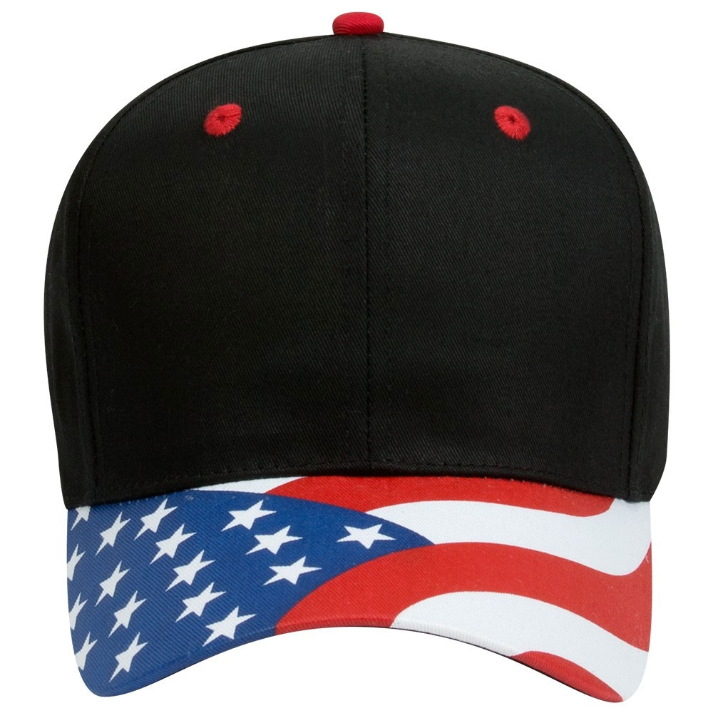 The Patriotic Look Structured Firm Front Panel Cap