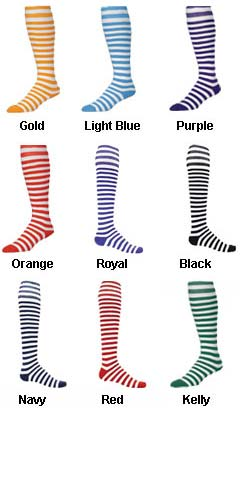 Intermediate Mini Hoop All Sport Socks by Red Lion - All Colors