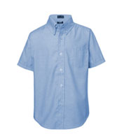 French Toast Boys Short Sleeve Oxford Shirt