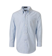 French Toast Boys Long Sleeve Oxford Shirt