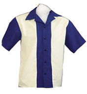 Custom Adult  Rocabilly 80s Bowling Shirts