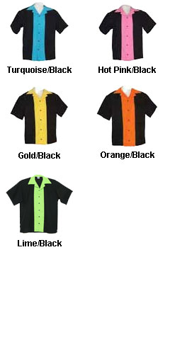 Childrens Classic 57 Style Bowling Shirt - All Colors