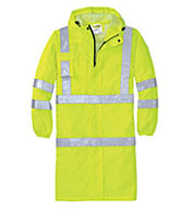 Custom ANSI Class 3 Long Waterproof Rain Coat