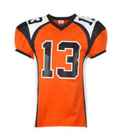 Youth Red Zone Steelmesh Football Jersey