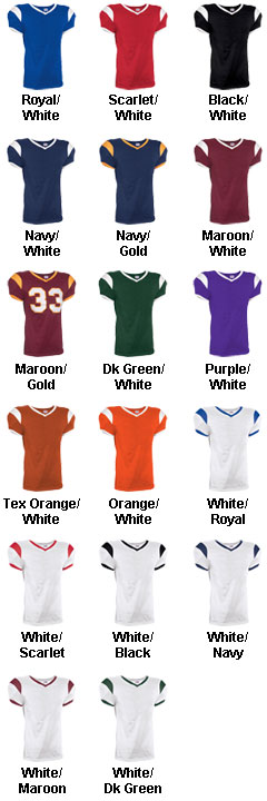 Youth Grinder Steelmesh Football Jersey - All Colors